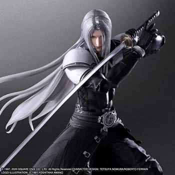 Final Fantasy VII Sephiroth Come to Life with Play Arts Kai