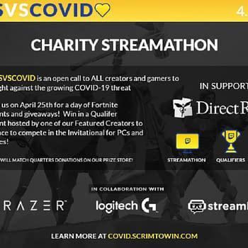 GamersVSCovid To Hold Fortnite Charity Streamathon On April 26th