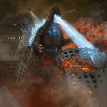 Godzilla King of the Monsters art mtg (Antonio Jose Manzanedo)