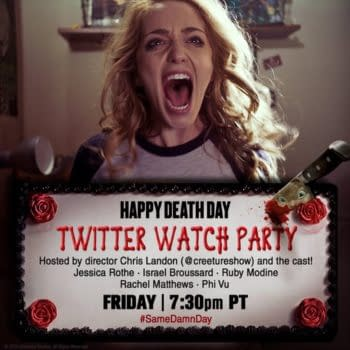 Happy Death Day is having a Twitter Watch Party Friday.
