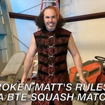 Matt Hardy Explains the Rules to a Squash Match on Being The Elite 199