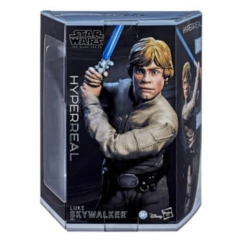 Star Wars The Black Series HyperReal Luke Skywalker from Hasbro