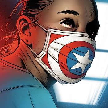 Joe Quesada Creates Captain America Art Celebrating Healthcare Workers