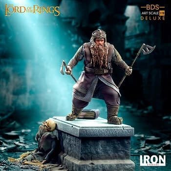 Lord of the Rings Gimli Gets New Statue From Iron Studios