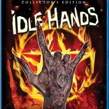 ldle Hands New Blu-ray From Scream Factory Cover