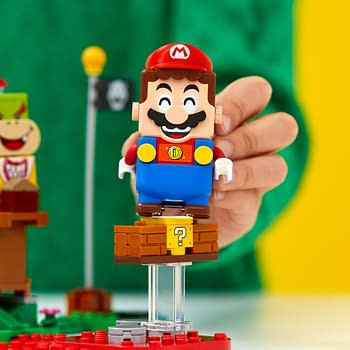 Someone Modded LEGO Super Mario To Be An NES Controller