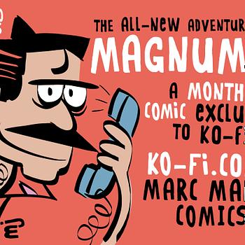Magnum PI Web Comic Comes to Ko-Fi
