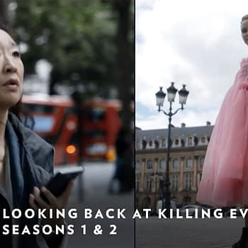 Killing Eve Clip Recaps Eve and Villanelles Two Season Backstory