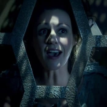 Suranne Jones's TARDIS greets the Doctor in Doctor Who, courtesy of BBC Studios.