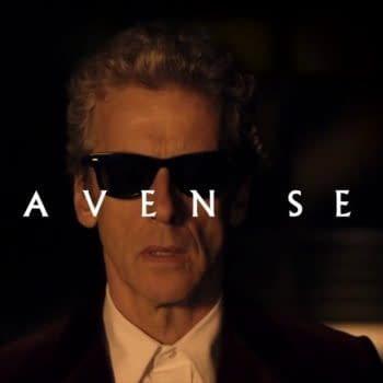 Peter Capaldi finds himself Heaven Sent and needing shades on Doctor Who, courtesy of BBC Studios.