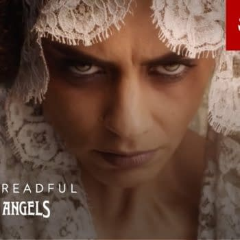 Santa Muerte makes her presence known on Penny Dreadful: City of Angels, courtesy of Showtime.