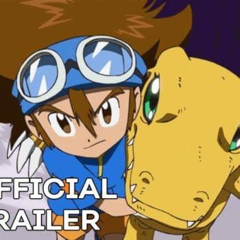 Tai joins Agumon on Digimon Adventure 2020, courtesy of Toei Animation.