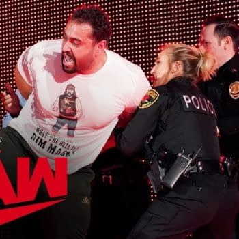 Someone doesn't want Rusev to celebrate his day, courtesy of WWE.