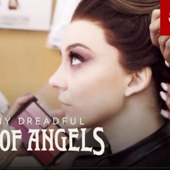 Natalie Dormer stars as Magda in Penny Dreadful: City of Angels, courtesy of Showtime.