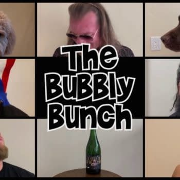"""Chris Jericho and the Inner Circle welcome us to an episode of """"The Bubbly Bunch"""" on Dynamite, courtesy of AEW."""