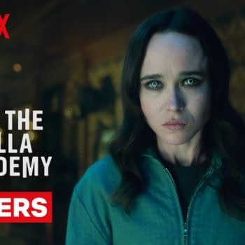 Vanya's not as powerless as she first thought in The Umbrella Academy, courtesy of Netflix.