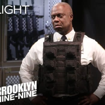 Nothing is keeping Holt from his dog on Brooklyn Nine-Nine, courtesy of NBC.