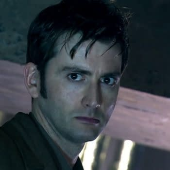 David Tennant is the Doctor on Doctor Who, courtesy of BBC Studios.