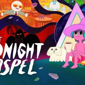 Duncan Trussell and Pendleton Ward present The Midnight Gospel, courtesy of Netflix.