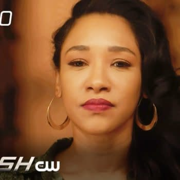 Candice Patton is Iris in The Flash, courtesy of The CW.