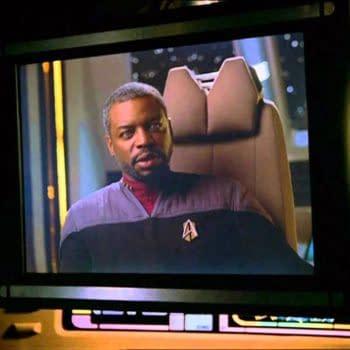 LeVar Burton plays U.S.S Enterprise-D's chief engineer Lt. Commander Geordi La Forge in the Star Trek universe, courtesy of CBS All Access.