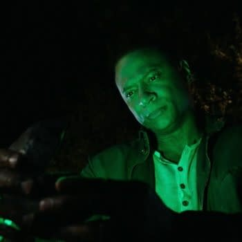 John Diggle is recruited into the Green Lantern Corp on Arrow, courtesy of The CW.