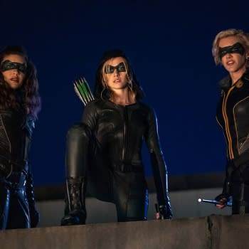 Arrow Stars Katherine McNamara Juliana Harkavy Discuss Shows Legacy