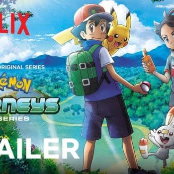 Ash and Pikachu continue their adventures in Pokemon Journeys: The Series, courtesy of Netflix.