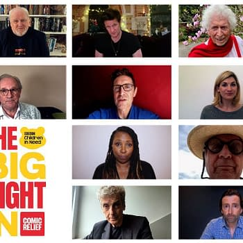 Doctor Who: 10 Doctors Post Message of Thanks Hope for Big Night In