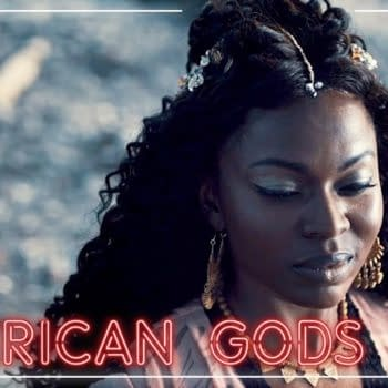 Bilquis offers tempting choices on American Gods, courtesy of STARZ.
