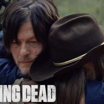 Daryl hears about Michonne on The Walking Dead, courtesy of AMC.