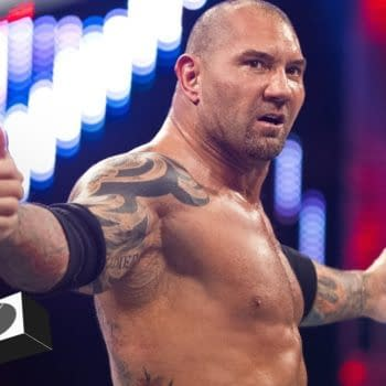 Batista's ready to inflict a major beatdown, courtesy of WWE.