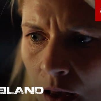 Claire Danes as Carrie in Homeland, courtesy of Showtime.