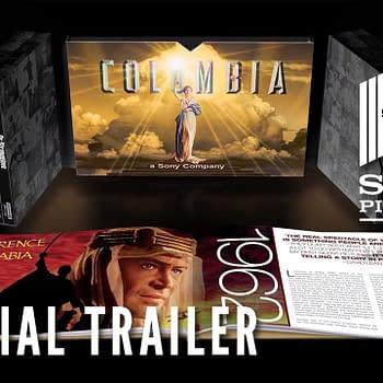 Columbia Classics 4K Blu-ray Set Includes Arabia Strangelove