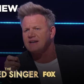 Guest panelist Gordon Ramsay on The Masked Singer, courtesy of FOX.