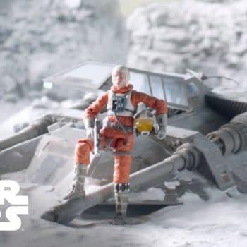 Star Wars Black Series Snowspeeder und Dak Ralter Figur