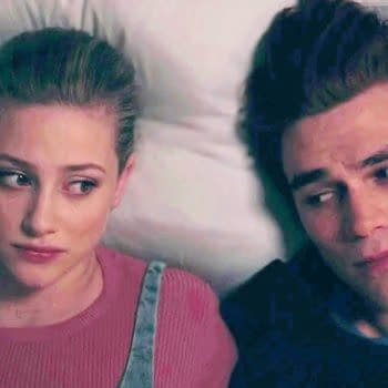 Archie and Betty go Lynchian on Riverdale, courtesy of The CW.