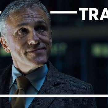 Christoph Waltz makes a deal in Most Dangerous Game, courtesy of Quibi.