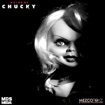 Chucky Calls Upon Tiffany to Haunt You with New Mezco Toyz Figure