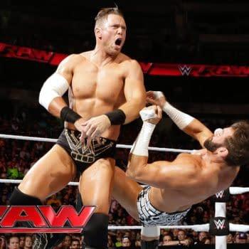 The Miz takes on Zack Ryder on Raw, courtesy of WWE.