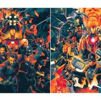 Mondo Avengers score covers.
