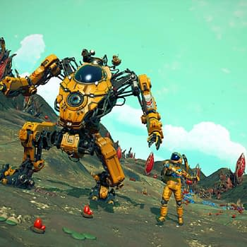 Hello Games Adds New Giant Mechs To No Mans Sky