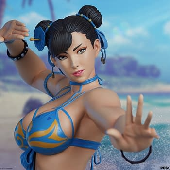 Street Fighter V Chun-Li Hits the Beach With PCS Collectibles