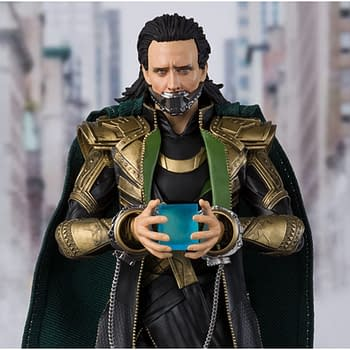 Loki is Up to No Good with New Figure from S.H. Figuarts