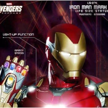 Life Size Iron Man Mark 85 Statue from Beast Kingdom