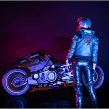 Cyberpunk 2077 Goes Deluxe with Added Motorbike from Pure Arts