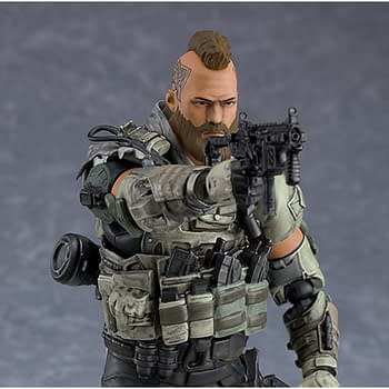 Call of Duty Specialist Ruin Gets Figure from Good Smile Company