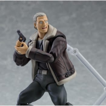 Ghost in the Shel Batou figma from Max Factory