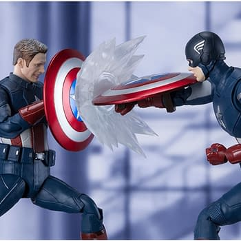 Captain America Travels Back to 2012 with S.H. Figuarts