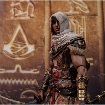 Assassins Creed Origins Bayek Lives with New Damtoys Figure